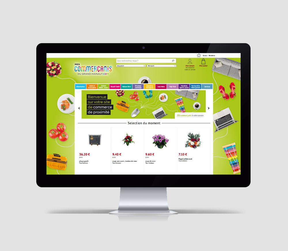 CCI du Grand Hainaut - Site Internet