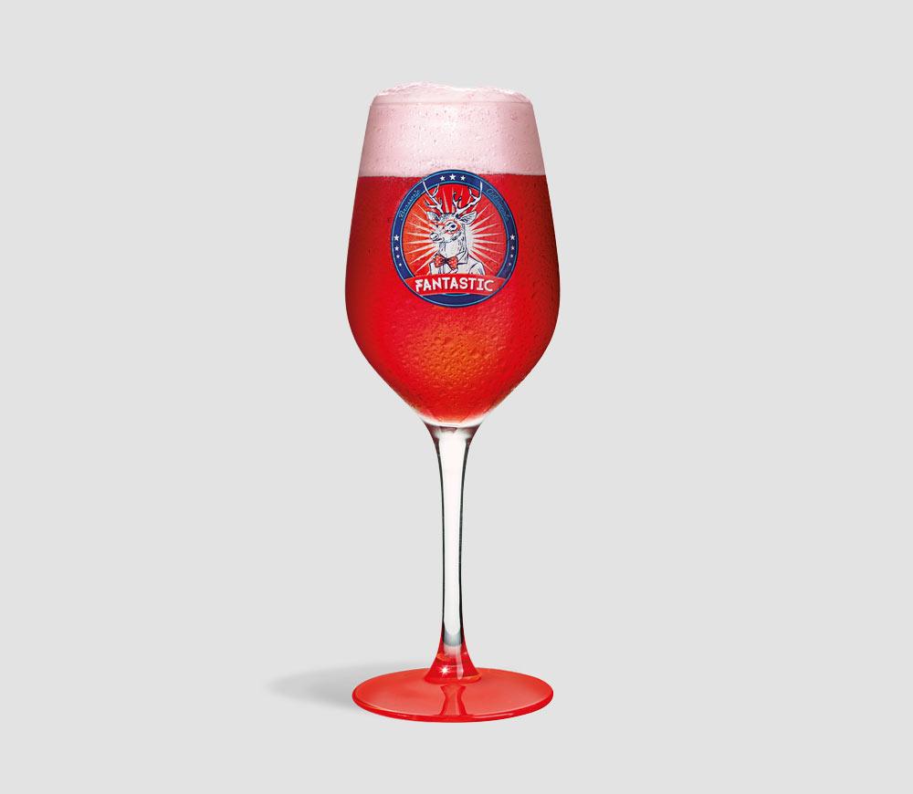 Castelain - bière Fantastic - verre