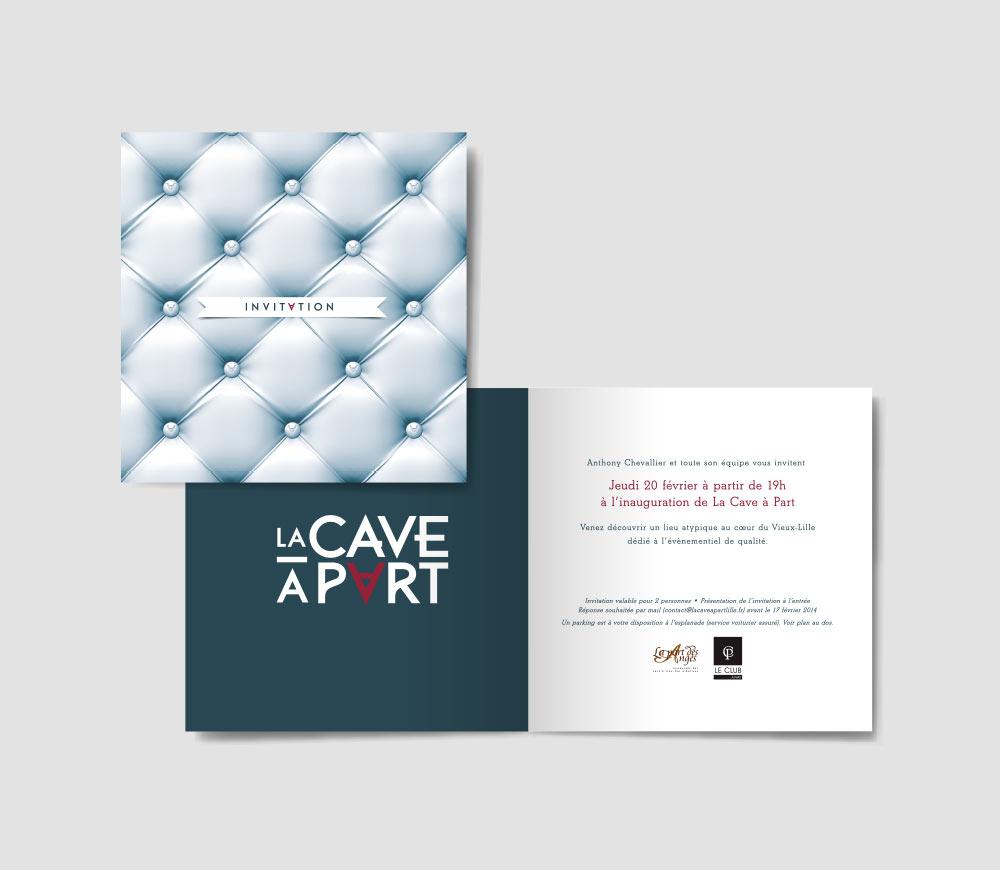 La Cave à Part - Invitation
