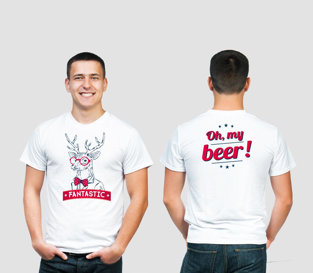 Castelain - bière Fantastic - T-shirt