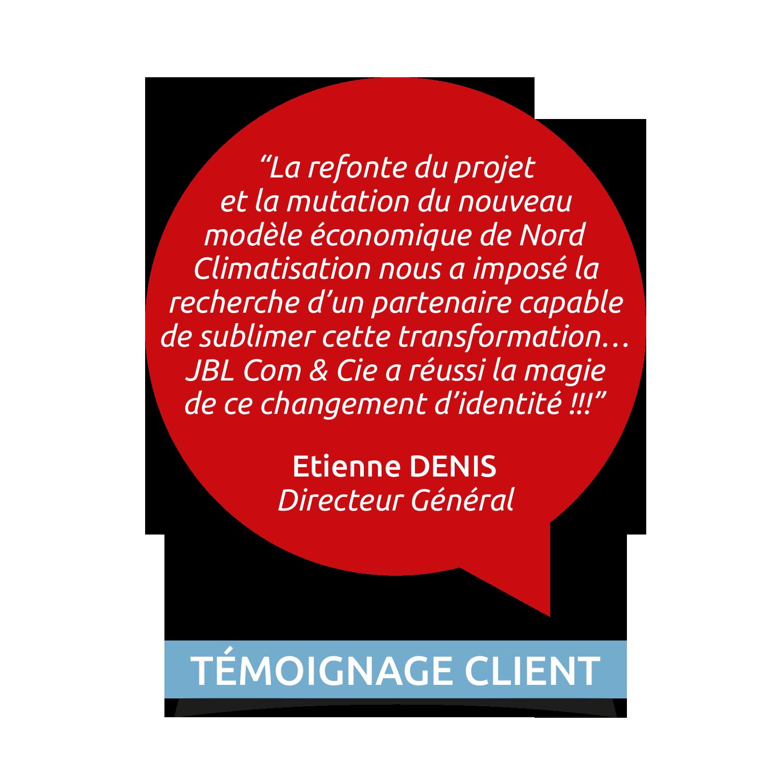 NORDCLIM témoignage Etienne DENIS
