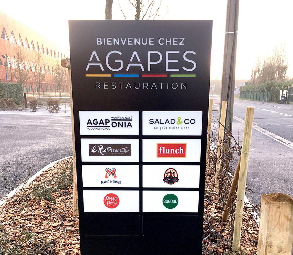 AGAPES RESTAURATION