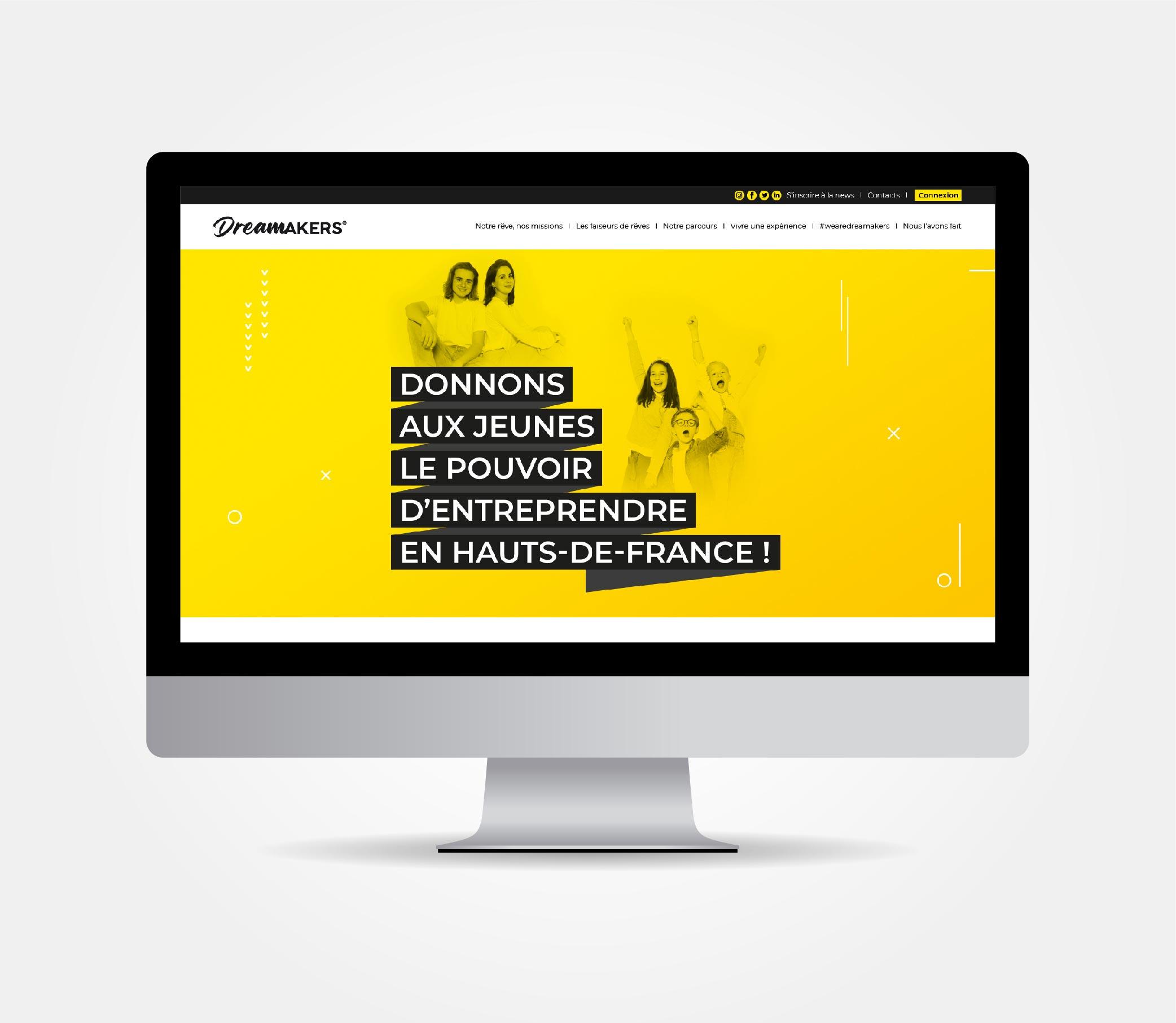 JBL Com & Cie - Portfolio - Dreamakers Site
