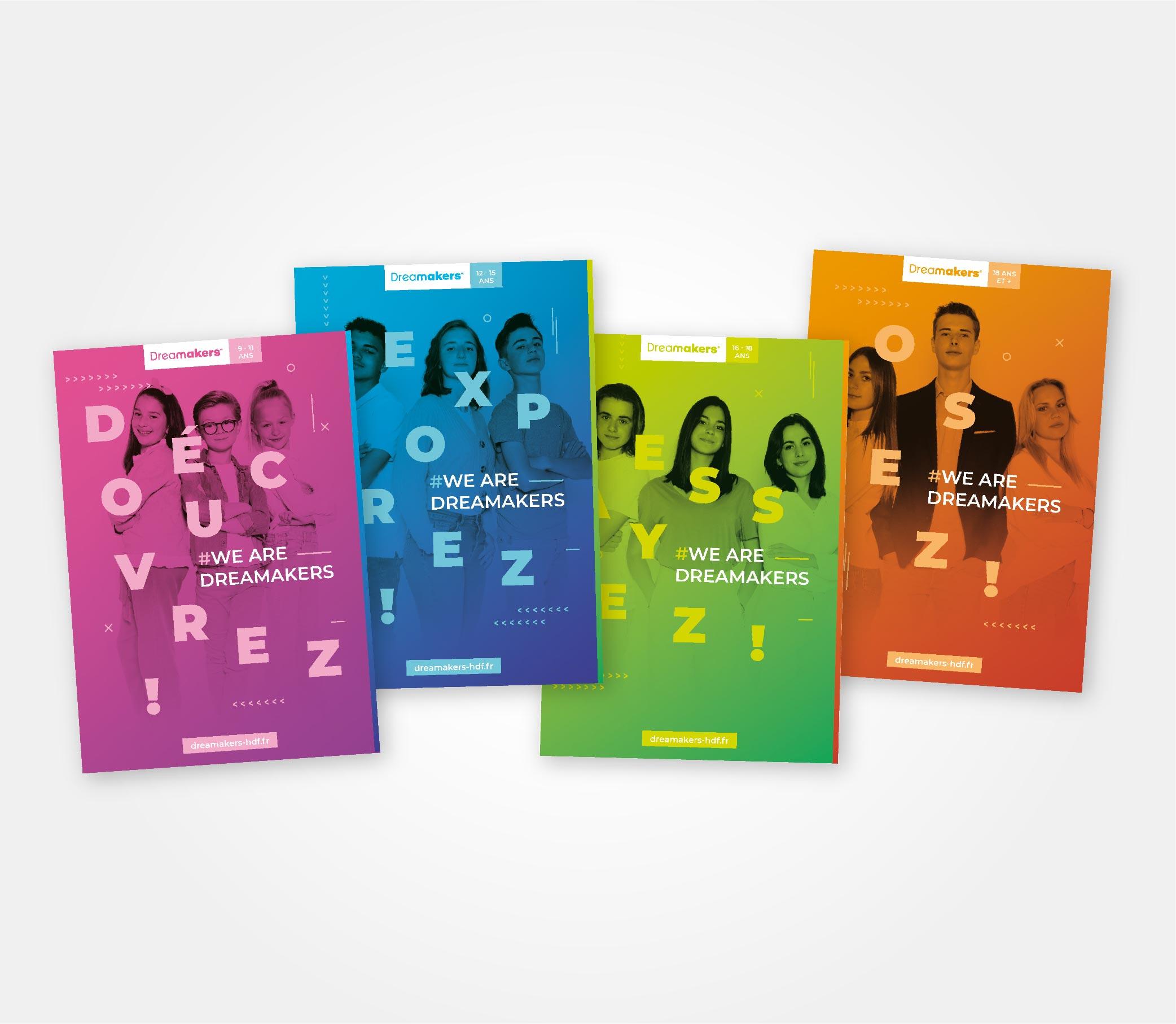 JBL Com & Cie - Portfolio - Dreamakers Plaquettes