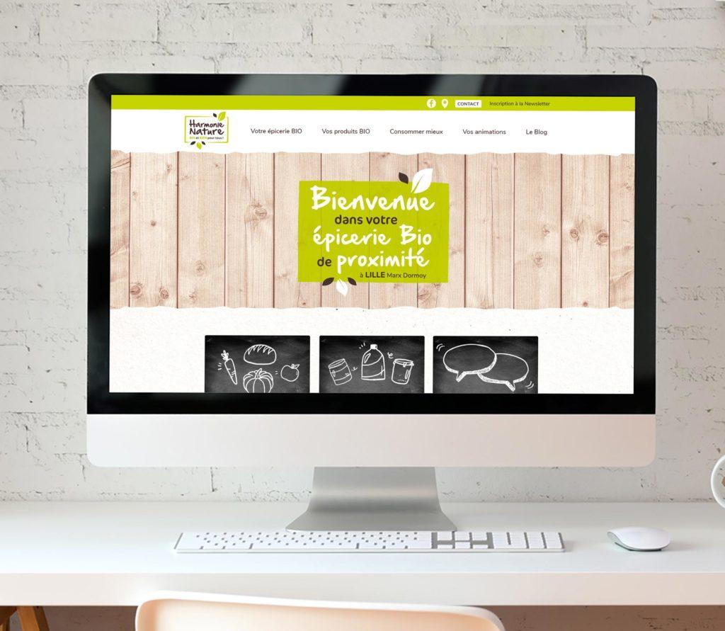 JBL Com & Cie - Portfolio - Harmonie Nature Site
