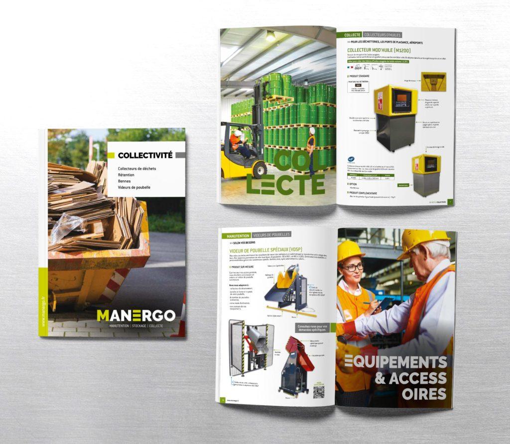 JBL Com & Cie - Portfolio - Catalogue Manergo